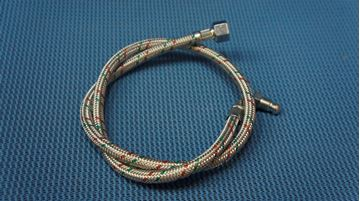 """Picture of RBS36 900MM X 1/4 X 3/8"""" FLEXIBLE OIL HOSE USE 561385"""
