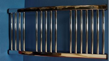 Picture of 1000 X 400 CURVED CP TOWEL RAIL