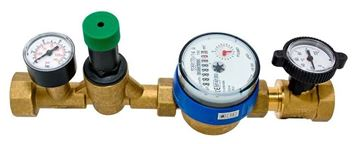 """Picture of ESS-1545-0812 1/2"""" WATER METER 80MM DIAL FOR TENANT VALVE"""